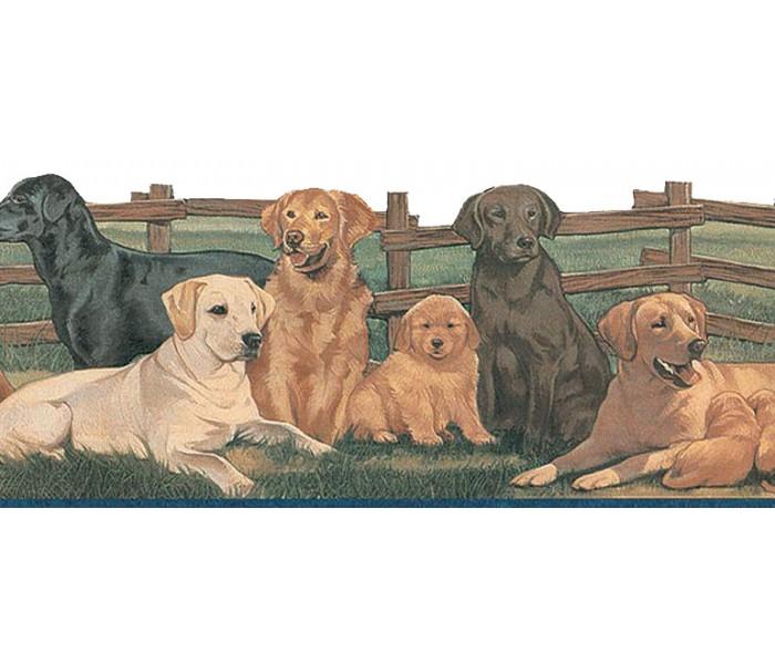 Dogs Wallpaper Borders: Dogs Wallpaper Border TA39037DB