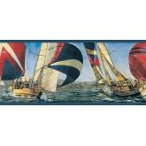 Sports Wallpaper Borders: Ships Wallpaper Border TA39039B