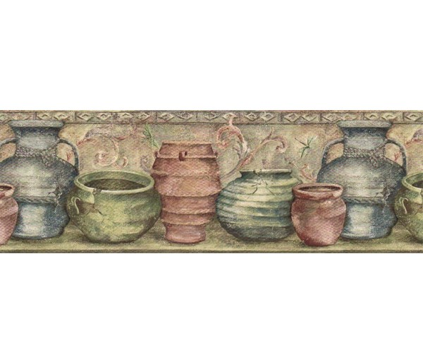 Kitchen Wallpaper Borders: Kitchen Wallpaper Border IL42006B