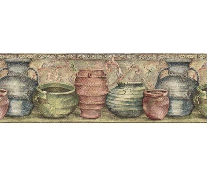 Kitchen Wallpaper Borders: Kitchen Wallpaper Border IL42006B