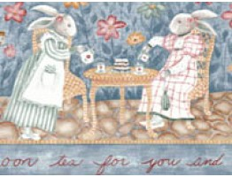 Rabbits Wallpaper Border B5033CK