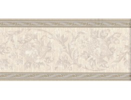 Prepasted Wallpaper Borders - Vintage Wall Paper Border B5169