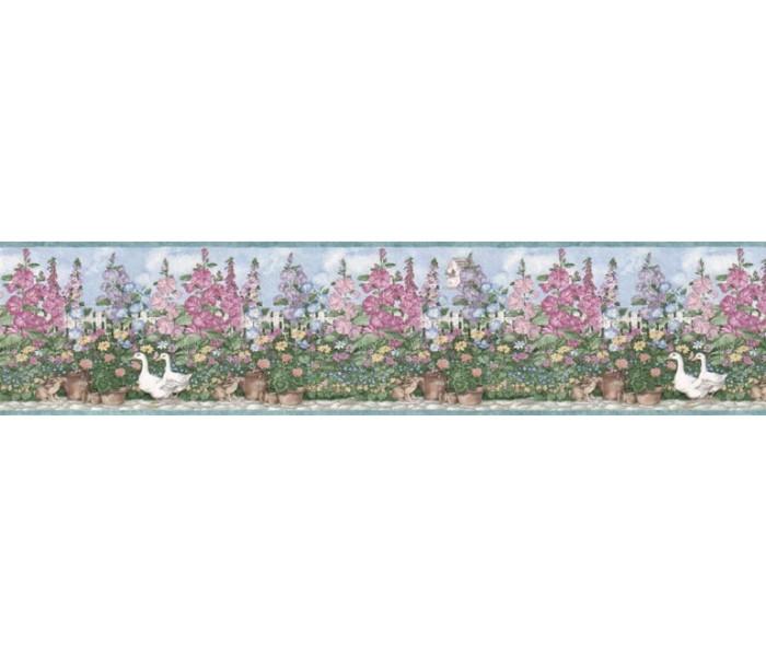 Garden Wallpaper Borders: Garden Wallpaper Border B5236SMB