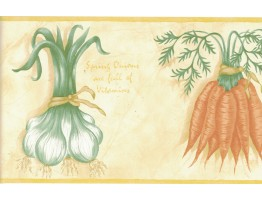 Vegetables Wallpaper Border B6115