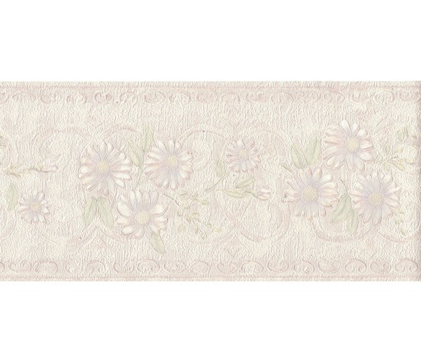Floral Borders Flower Wallpaper Border B6264