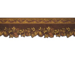 Prepasted Wallpaper Borders - Leafs Wall Paper Border 62731DC