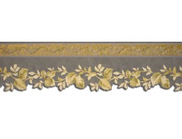 Prepasted Wallpaper Borders - Leafs Wall Paper Border 62733DC