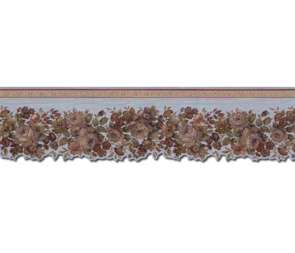 Clearance: Roses Wallpaper Border 65100DC