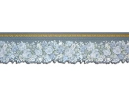Prepasted Wallpaper Borders - Roses Wall Paper Border 65104DC