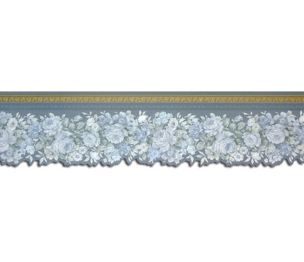 Floral Borders Roses Wallpaper Border 65104DC