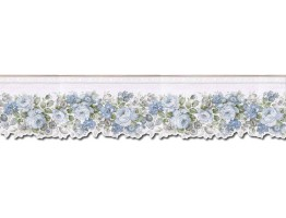 Prepasted Wallpaper Borders - Roses Wall Paper Border 65105DC
