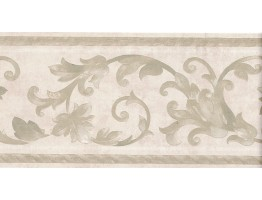 Prepasted Wallpaper Borders - Vintage Wall Paper Border B6610M