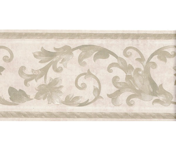 Vintage Wallpaper Borders: Vintage Wallpaper Border B6610M