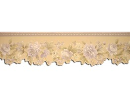 Prepasted Wallpaper Borders - Roses Wall Paper Border 67103DC