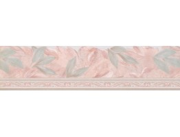 Prepasted Wallpaper Borders - Floral Wall Paper Border Des67119DC
