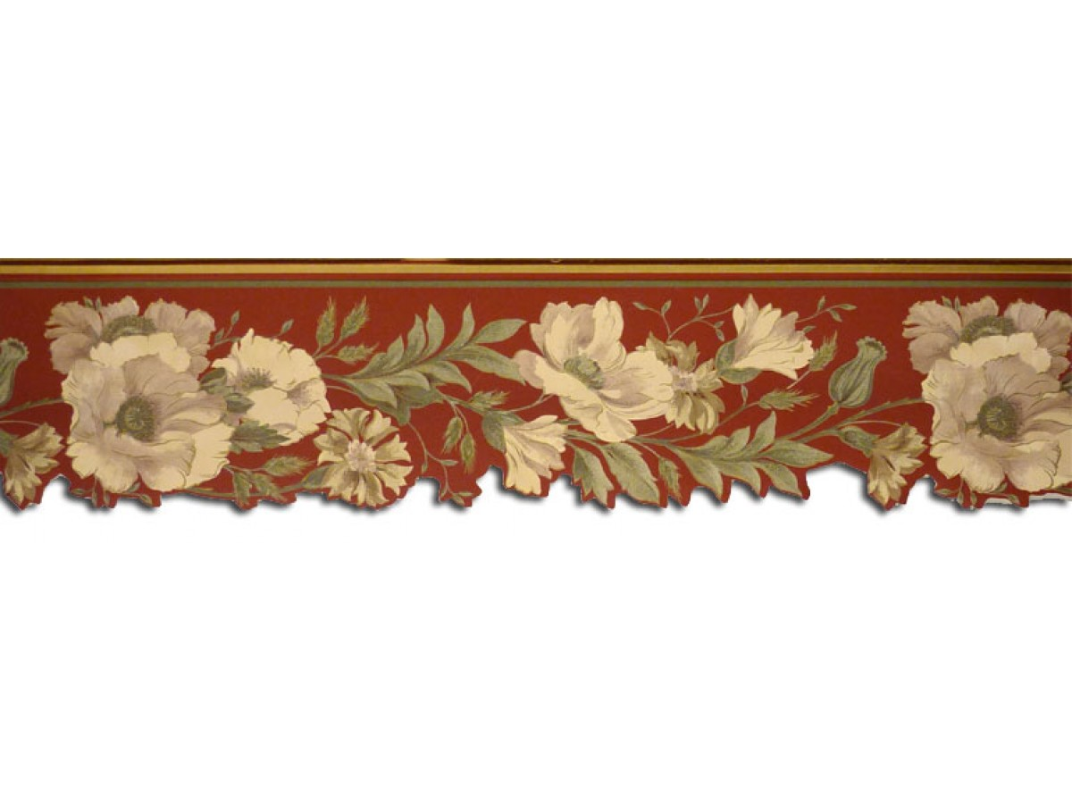 Floral Wallpaper Border 67130dc
