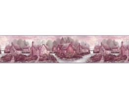 Prepasted Wallpaper Borders - Contemporary Wall Paper Border B708135