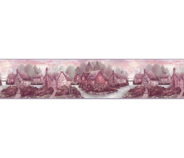 Clearance: Contemporary Wallpaper Border B708135