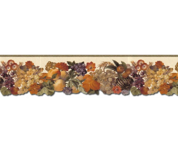 Clearance: Fruits Wallpaper Border B708661