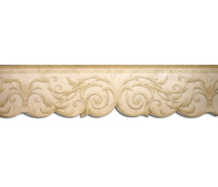 Clearance: Vintage Wallpaper Border NS71804DC