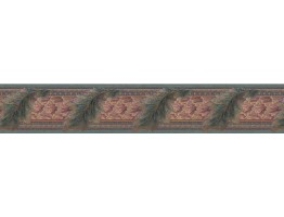 Prepasted Wallpaper Borders - Contemporary Wall Paper Border B71975