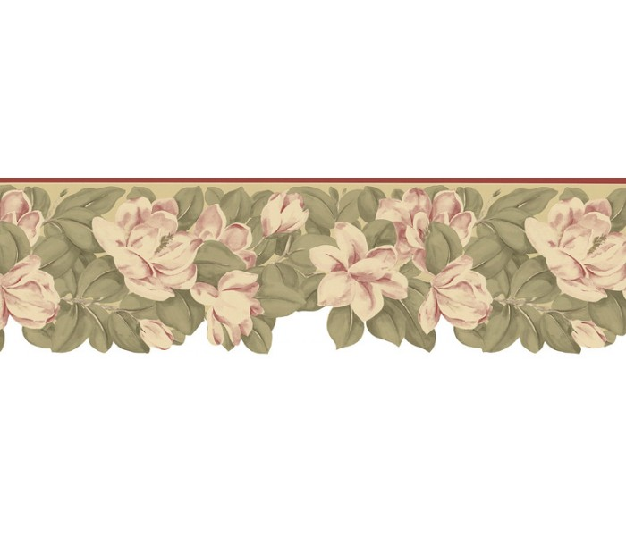 Floral Wallpaper Borders: Floral Wallpaper Border B73658