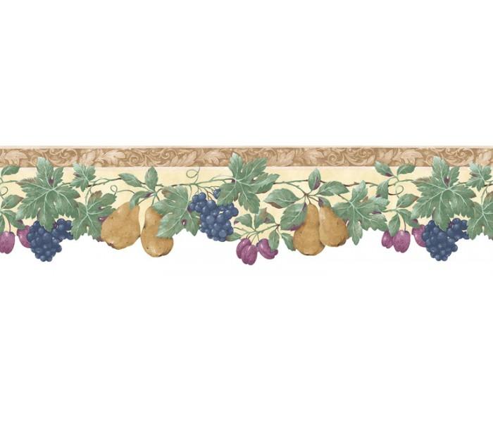 Clearance: Fruits Wallpaper Border B74239