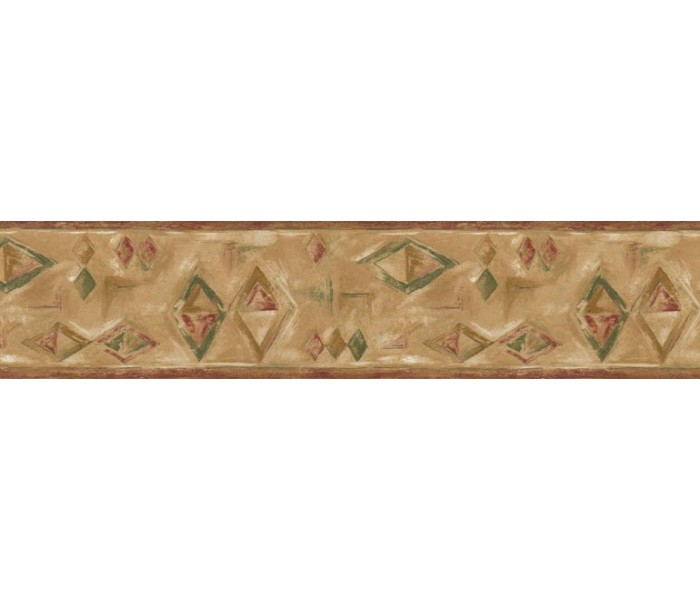Clearance: Contemporary Wallpaper Border NL74334B