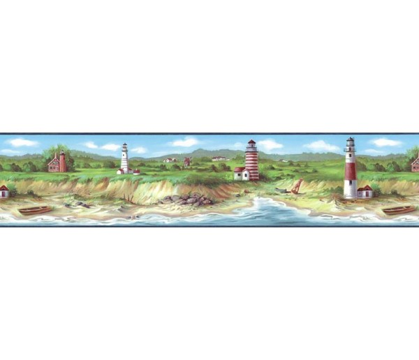 Lighthouse Wallpaper Borders: Light House Wallpaper Border KB75506
