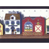 Clearance: Country Wallpaper Border b7563bp