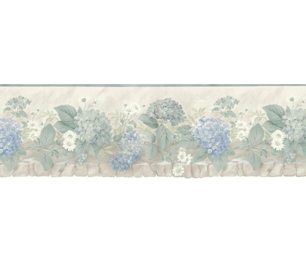 Floral Wallpaper Borders: Floral Wallpaper Border b75701
