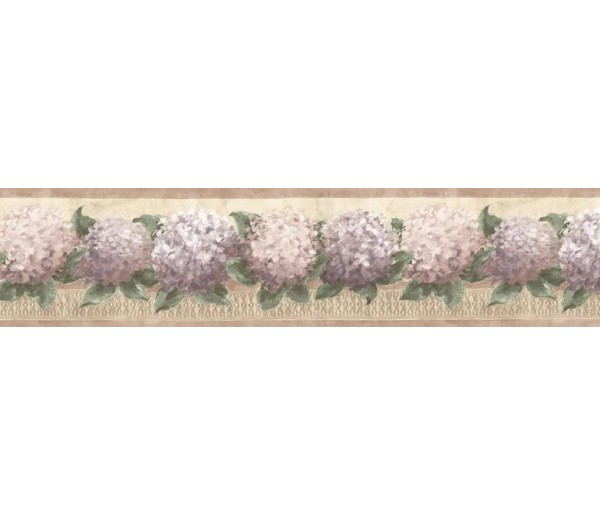 Floral Wallpaper Borders: Floral Wallpaper Border b75728