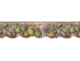 Prepasted Wallpaper Borders - Fruits Wall Paper Border b75730