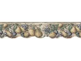 Prepasted Wallpaper Borders - Fruits Wall Paper Border b75731