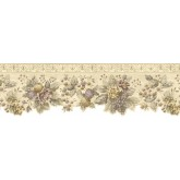 Floral Wallpaper Borders: Floral Wallpaper Border b75741