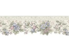Floral Wallpaper Border b75742