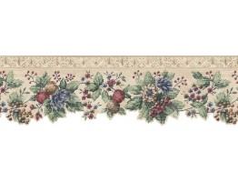 Floral Wallpaper Border b75743