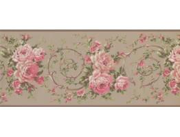 Floral Wallpaper Border 4620 BA