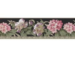 Floral Wallpaper Border 4628 BA