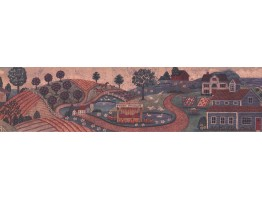 Country Wallpaper Border 3006 BB A