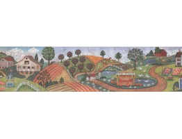 Country Wallpaper Border 3006 BB C