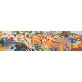 Jungle Wallpaper Borders: Animals Wallpaper Border 3025 BB A