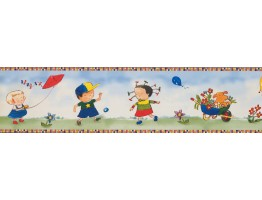 Kids Wallpaper Border 4012 BB A