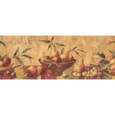 Garden Wallpaper Borders: Fruits Wallpaper Border 10122 BE