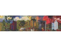 Country Wallpaper Border 10191 BE