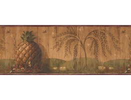 Prepasted Wallpaper Borders - Country Wall Paper Border 10401 BE
