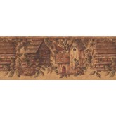 Bird Houses Birds House Wallpaper Border 10562 BE York Wallcoverings
