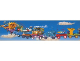Kids Wallpaper Border 11031 BE