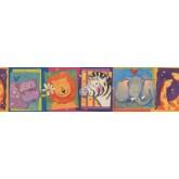 Nursery Wallpaper Borders: Kids Wallpaper Border 11051 BE