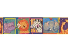 Prepasted Wallpaper Borders - Kids Wall Paper Border 11051 BE